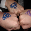 Supermannen sminkies-events verzorgt professionele schmink en glitter tattoos op evenementen en feesten. www.sminkies-events.com